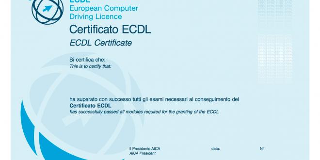 certificato aica