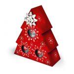 Confezione Albero di Natale con caffè illy