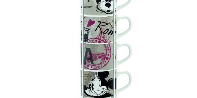 Un caffè con Topolino, con le tazze Egan per Disney