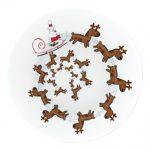 Alessi propone il piatto da portata Christmas Spiral A