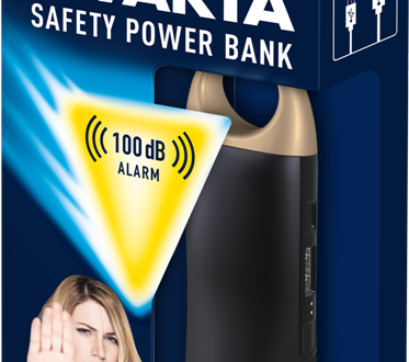Safety Powerbank Varta, pensata per le donne