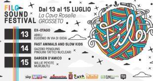 Il Filo Sound Festival, l'evento musicale che scalderà l'estate grossetana