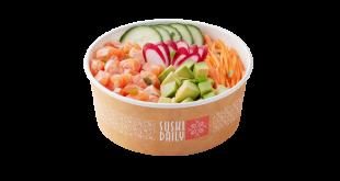 Sushi Daily propone nei suoi corner quattro nuovi piatti pronti, le Poke Sushi Bowls