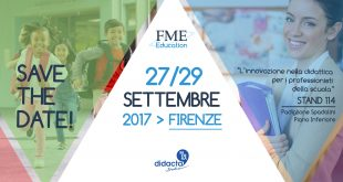 Back to school: FME Education riparte da Didacta