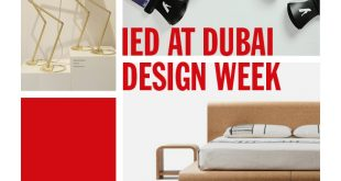 IED partecipa alla Dubai Design Week 2017