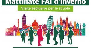 """Studenti in visita nei meravigliosi tesori d'Italia propongono le loro """"soluzioni green"""" grazie all'iniziativa proposta daMattinate FAI d'Inverno"""