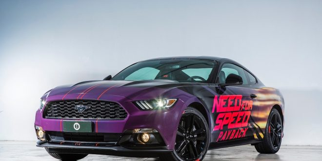 Ford Mustang personalizzata per Need for Speed Payback