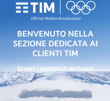 Con TIM e Eurosport i Giochi Olimpici Invernali a portata di App