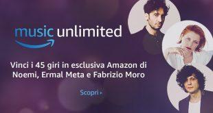 Sanremo 2018: al via le playlist dei cantanti e il concorso Amazon