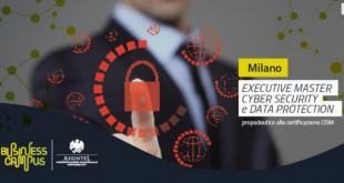 Il nuovo Master in Cyber Security e Data Protection