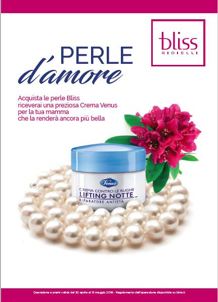 Le perle Bliss celebrano la festa della mamma