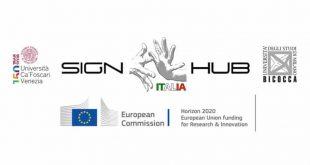 Primi risultati del progetto europeo SIGN-HUB