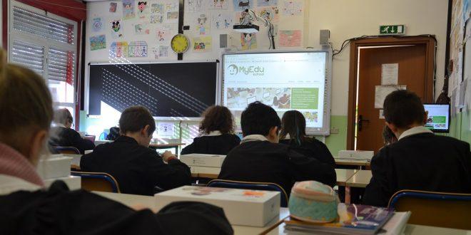 MyEdu School raddoppia e consegna 500 tablet nelle scuole