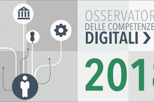 Presentato l'Osservatorio delle Competenze Digitali 2018