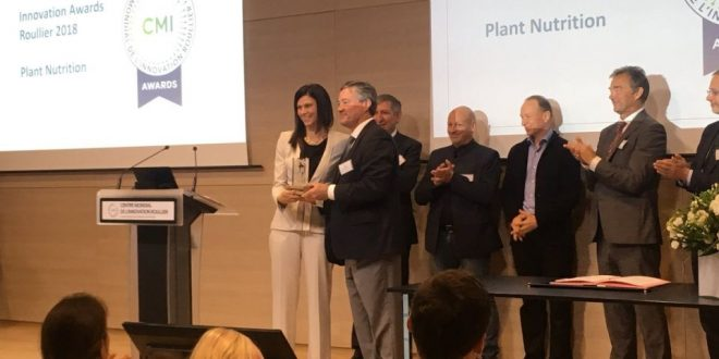 Uniud si aggiudica l'Innovation Awards Groupe Roullier 2018