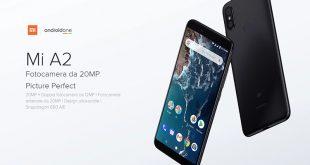 Xiaomi annuncia Mi A2 e Mi A2 Lite