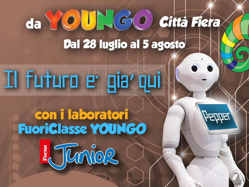 """I laboratori """"FuoriClasse"""": una partnership fra le ludoteche YOUNGO eFocus Junior"""