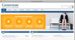 Cornerstone migliora l'esperienza di candidati e selezionatori