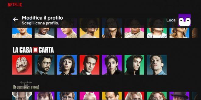 Netflix presenta le nuove icone del profilo