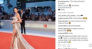 Instagram: alla Mostra del Cinema di Venezia si impone Bruna Marquezine