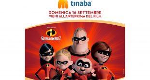 """""""Gli Incredibili 2"""" in anteprima solo con Tinaba"""