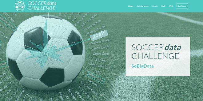 Aperte le iscrizioni alla Soccer data challenge