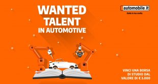 "Torna ""Wanted Talent in Automotive"", la borsa di studio di automobile.it"