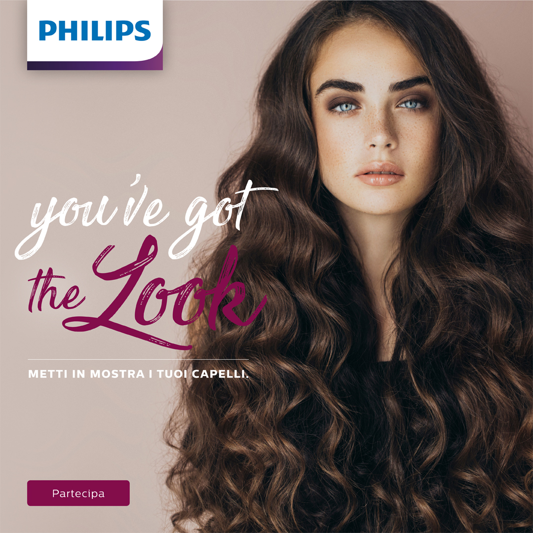 Philips lancia il concorso You've got the look