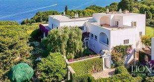 La villa di Totò in vendita a Capri