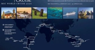 Chef stellati a bordo della World Cruise 2019 MSC Crociere