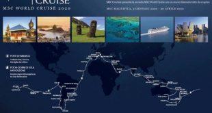 Chef stellati a bordo della World Cruise 2019 MSC Crociere