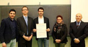 Il premio Mauro Doneddu vinto da uno studente di Ingegneria elettronica di Udine