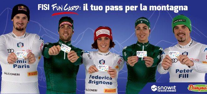 FISI Fun Card è la card per gli appassionati di montagna