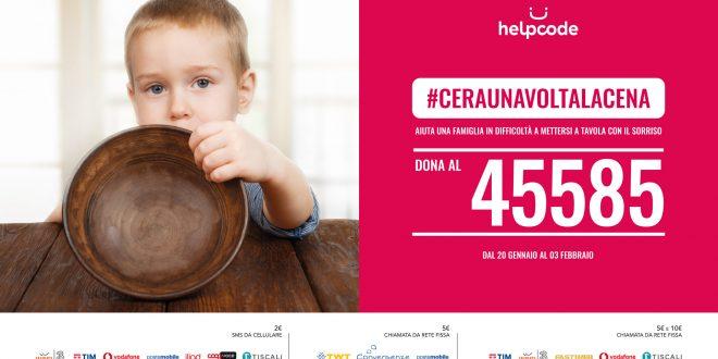 La campagna di raccolta fondi per la malnutrizione infantile