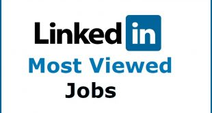 LinkedIn Most Viewed Jobs 2018