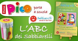 Focus Pico propone alle scuole materne un progetto di sand painting