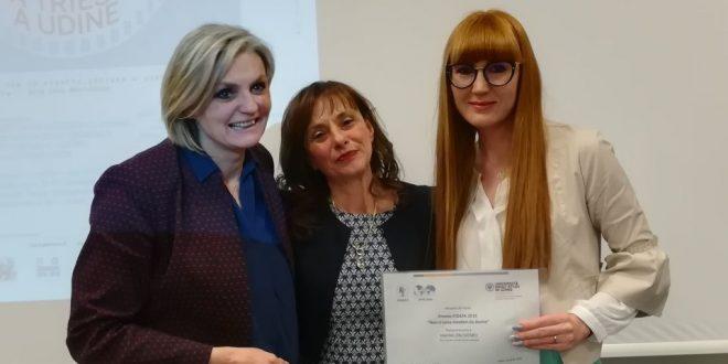 """Consegnato il premio Fidapa """"Non ci sono mestieri da donne"""", edizione 2018"""